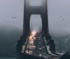 city, photography, and bridge image