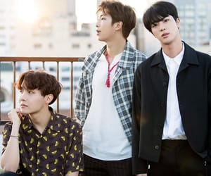 jin, seokjin, and hoseok image
