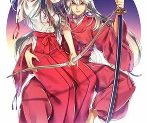 anime, kagome, and badass image