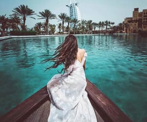 Dubai, girl, and place image