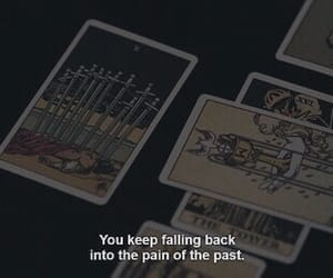 quotes, dark, and pain image