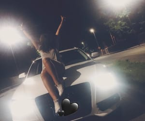 a4, audi, and girl image