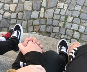 couple, him, and vans image