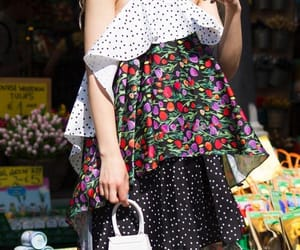 bag, pretty, and dress image