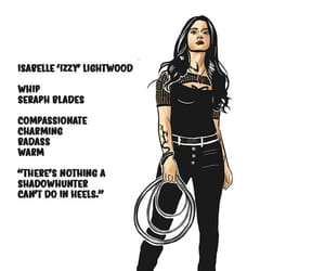 art, shadow hunters, and izzy lightwood image