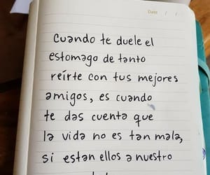 frases, amigos, and amistad image
