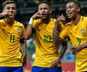 brazil, neymar, and football image