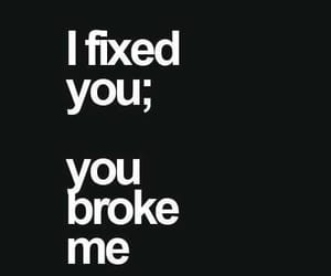 article and break up image