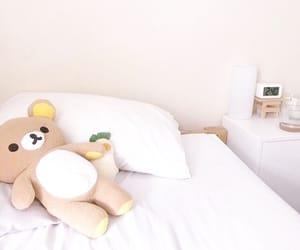 aesthetic, pastel, and rilakkuma image