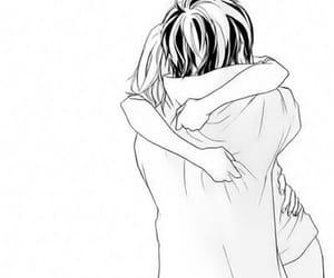 anime, manga, and hug image