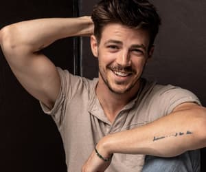 grant gustin, the flash, and actor image