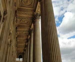 columns, france, and paris image