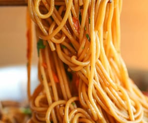 spaghetti and food image