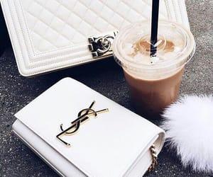 YSL, coffee, and bag image