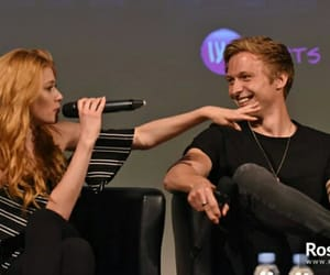couple, paris, and clary fray image