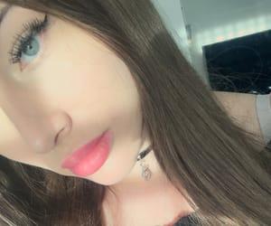 blueeyes, girl, and greeneyes image