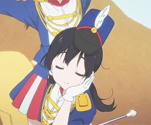 anime, gif, and kawaii image