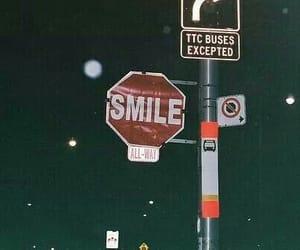 smile, night, and grunge image