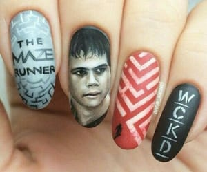 nails and the maze runner image