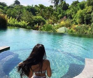 bikini, luxury, and pool image