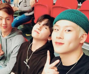 monsta x, jooheon, and shownu image