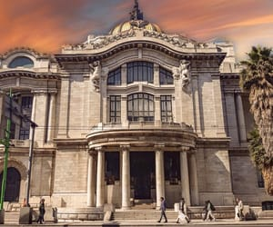 architecture, pink, and bellas artes image