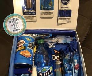 gift basket and blue image