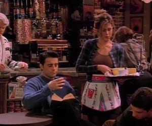 Jennifer Aniston, rachel, and friends image