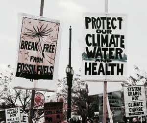 protest and climate change image