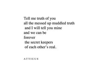 atticus, secrets, and love image