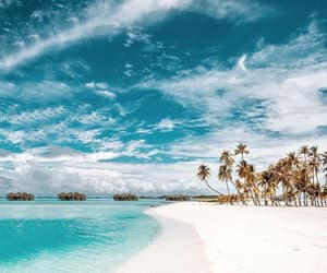 travel, beach, and landscape image