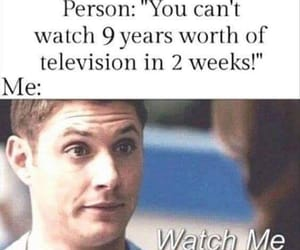 supernatural, funny, and dean image