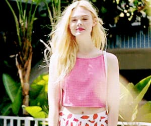 Elle Fanning and gif image