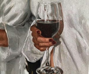 wine, art, and painting image