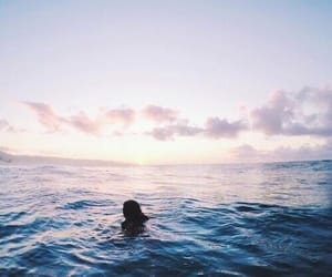 summer, sky, and ocean image