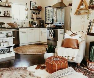 bohemian, brown, and decor image