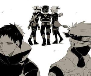 anime, kakashi, and anime boy image