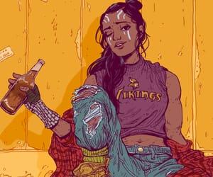 art, comic, and desing image