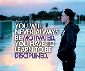 college, discipline, and motivation image