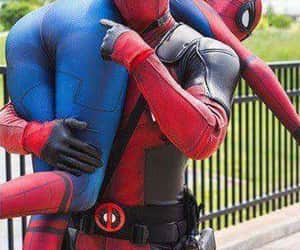 deadpool, spiderman, and Avengers image