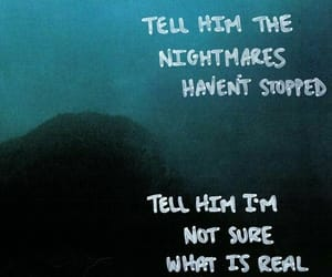 blue, nightmare, and sleep image