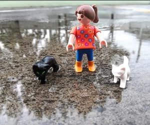 gato, playmobil, and coleccionistas image
