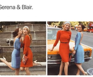 B & S, best friends, and blair waldorf image