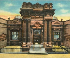 architecture, pittsburgh, and postcard image