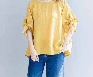 etsy, loose fitting shirt, and oversize shirt image