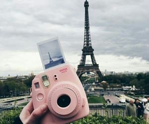 paris, polaroid, and photography image