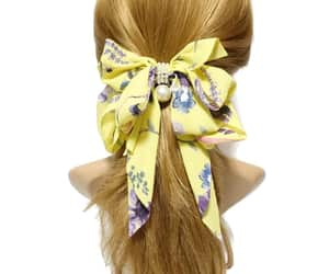 accessory, chiffon, and hair image