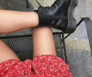 boots, dr martens, and free people image