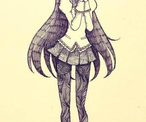 anime, madoka magica, and akemi homura image