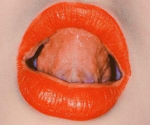 grunge, lips, and retro image